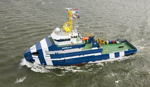 A new milestone in Offshore Support Vessel construction.