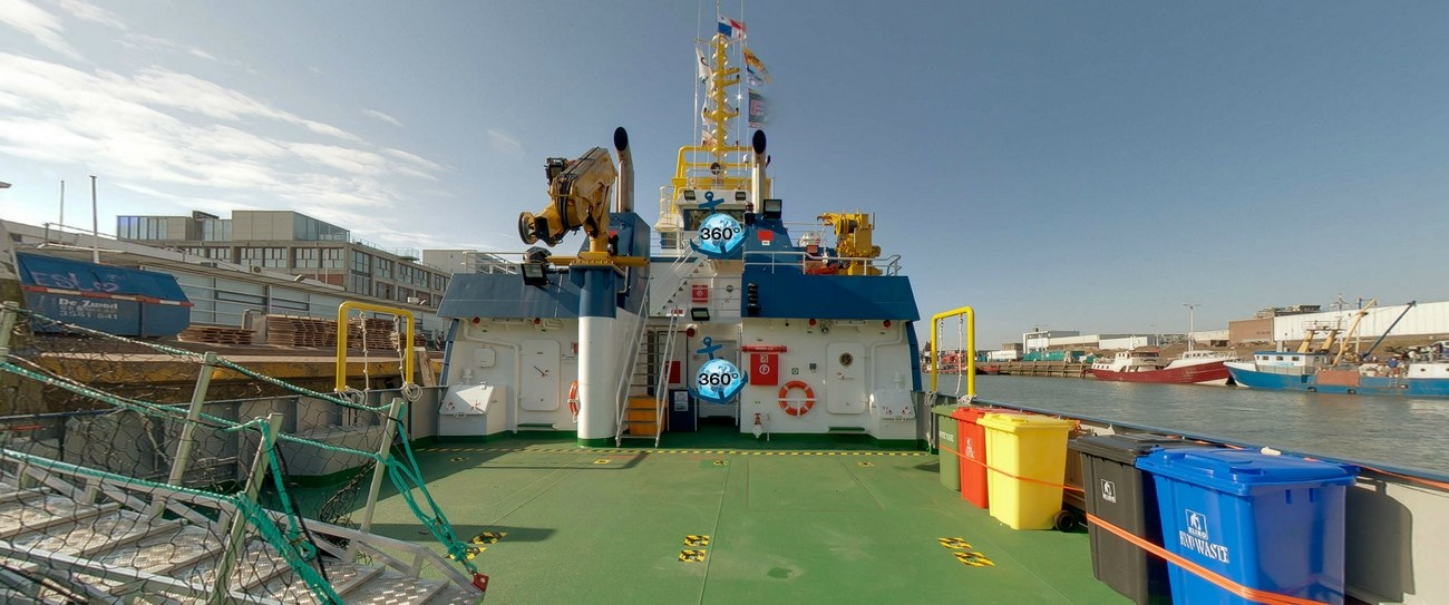 View Seismic Research Support Vessel Virtual Tour