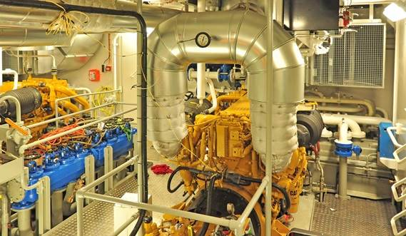 Propulsion: 2 Caterpillar C32 engines with 2640 horsepower in total to reach a speed of 14 knots.