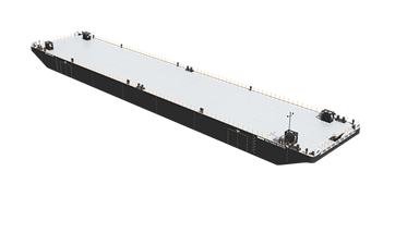 Constructed to Finnish-Swedish Ice Class 1C standard.