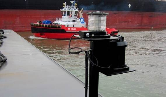 Optional Navigation Lights according the standard for international towage