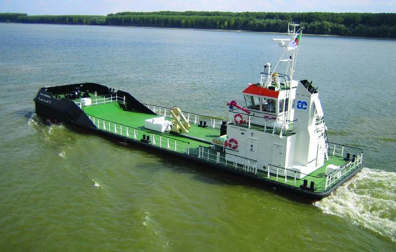 Damen Barges Innovation