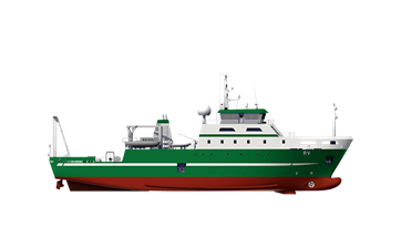Damen Fishery Research Vessel 6615
