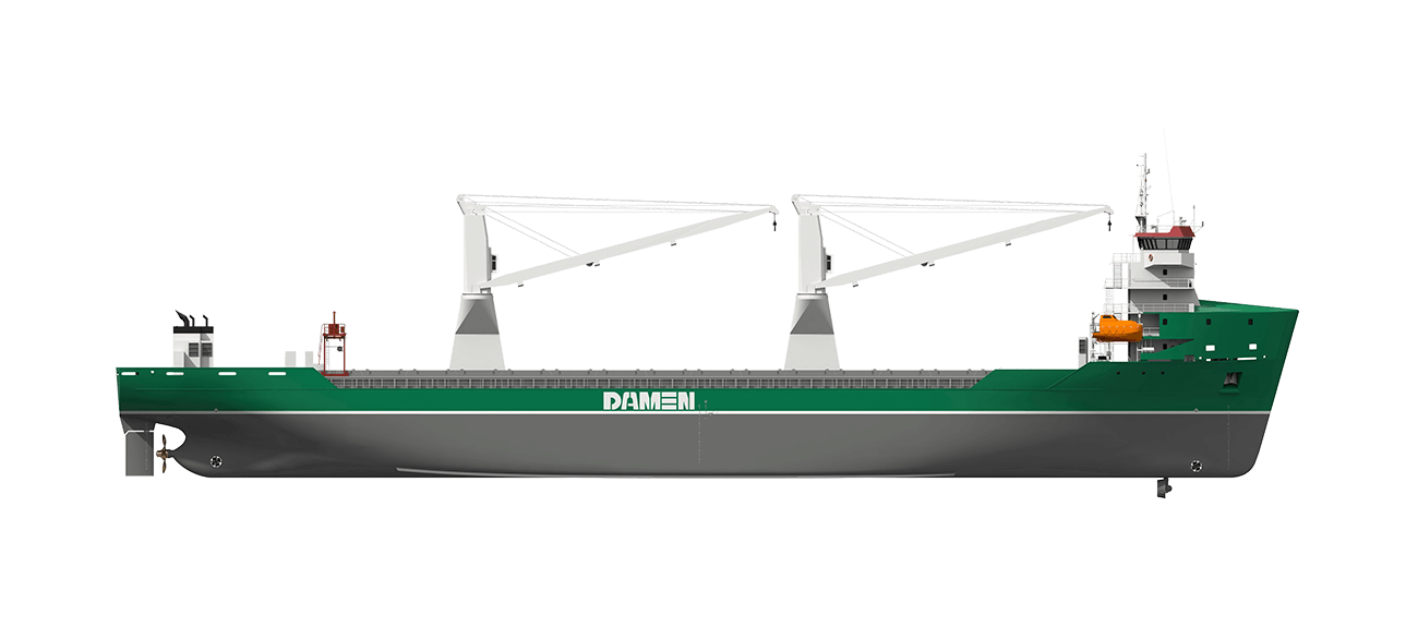 Flexibility in the design of the stern allows customers to choose between a single or twin screw arrangement