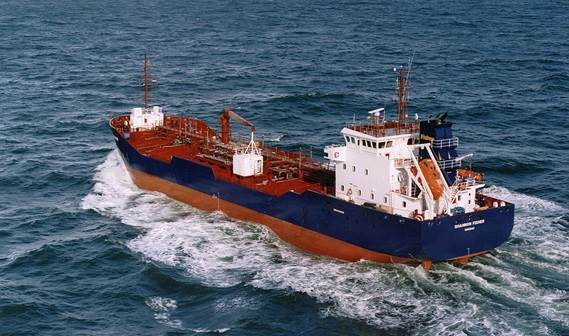 Vessel type: Damen Double Hull Oil Tanker 5700