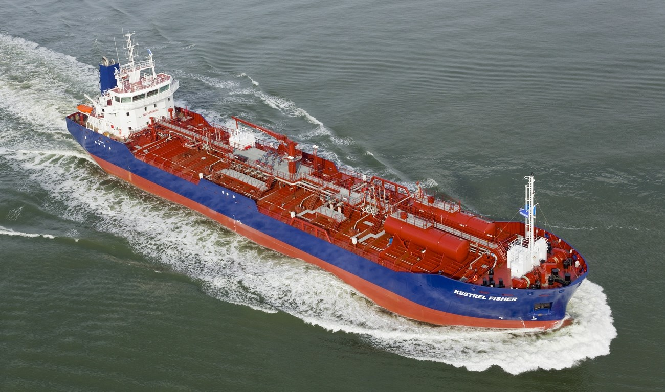 The final Damen Tanker 8000 for owner De Opfeart was delivered on October 30, 2013