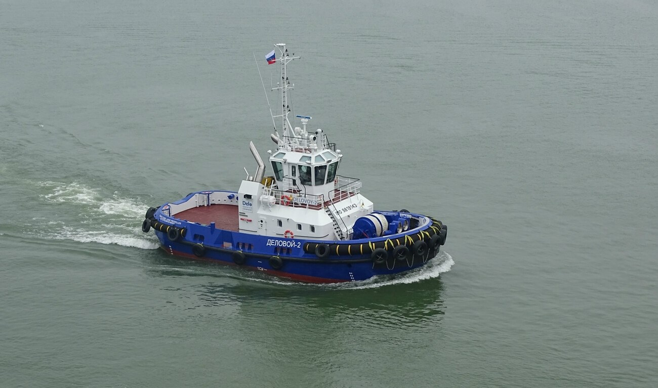 TOS Bunkering Company has taken delivery of three new ASD Tugs 2310, named Delovoy 1, Delovoy 2 and Delovoy 3.