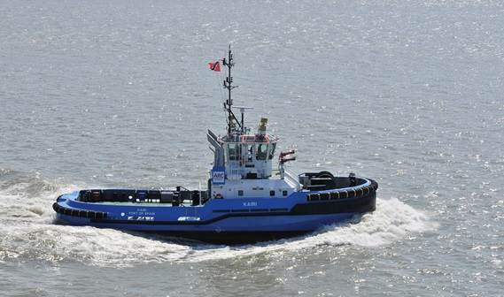 The first DAMEN ASD 2810 left for Trinidad