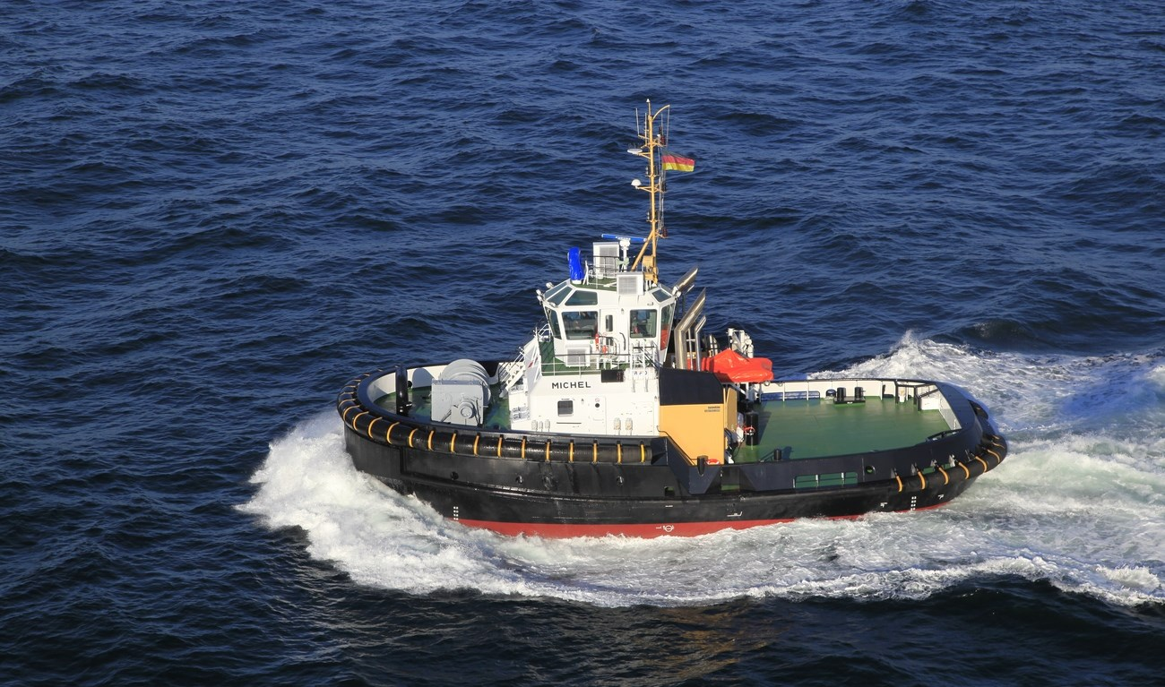 Damen Shipyards Group has delivered the first vessel in its new ASD Tug 2913 class