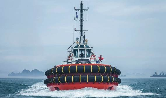 The ASD Tug and its crew make an excellent team, benefiting from the safe working environment created for all onboard.