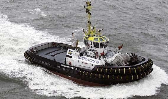 This modern innovative tug represents a completely new Damen ship type and a milestone in ASD target design.