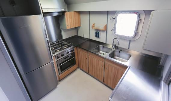 Excellent galley facilities.