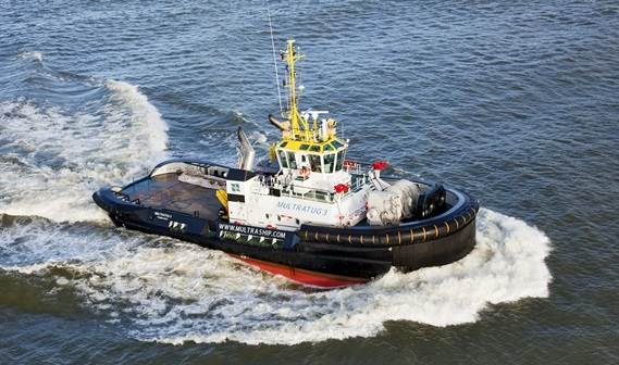 'Multratug 3' was delivered to Multraship Towage and Salvage on December 23, 2010.