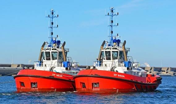 Damen Shipyards Group delivered two sister tugs ATD 2412