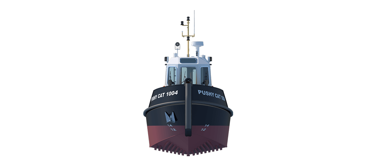 The Damen Stan Launch series offers extremely clean designs and highly manoeuvrable vessels.