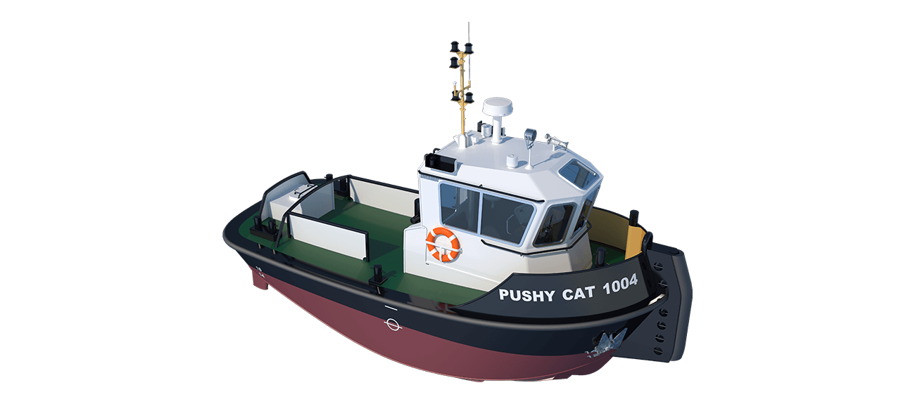The well-known Damen philosophy of standardisation delivers a wide range of benefits in this new tug type.