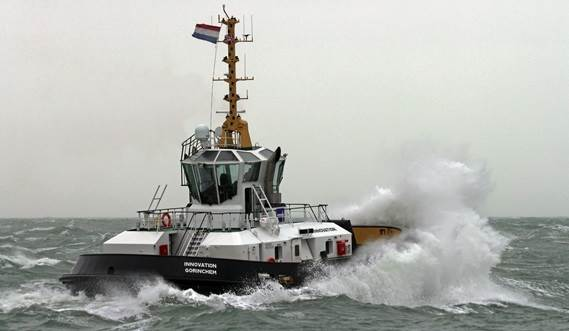 Reversed Stern Drive Tug 2513 'Innovation'