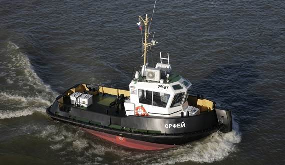 This vessel has excellent seakeeping behaviour, superb manoeuvrability and outstanding towing characteristics.