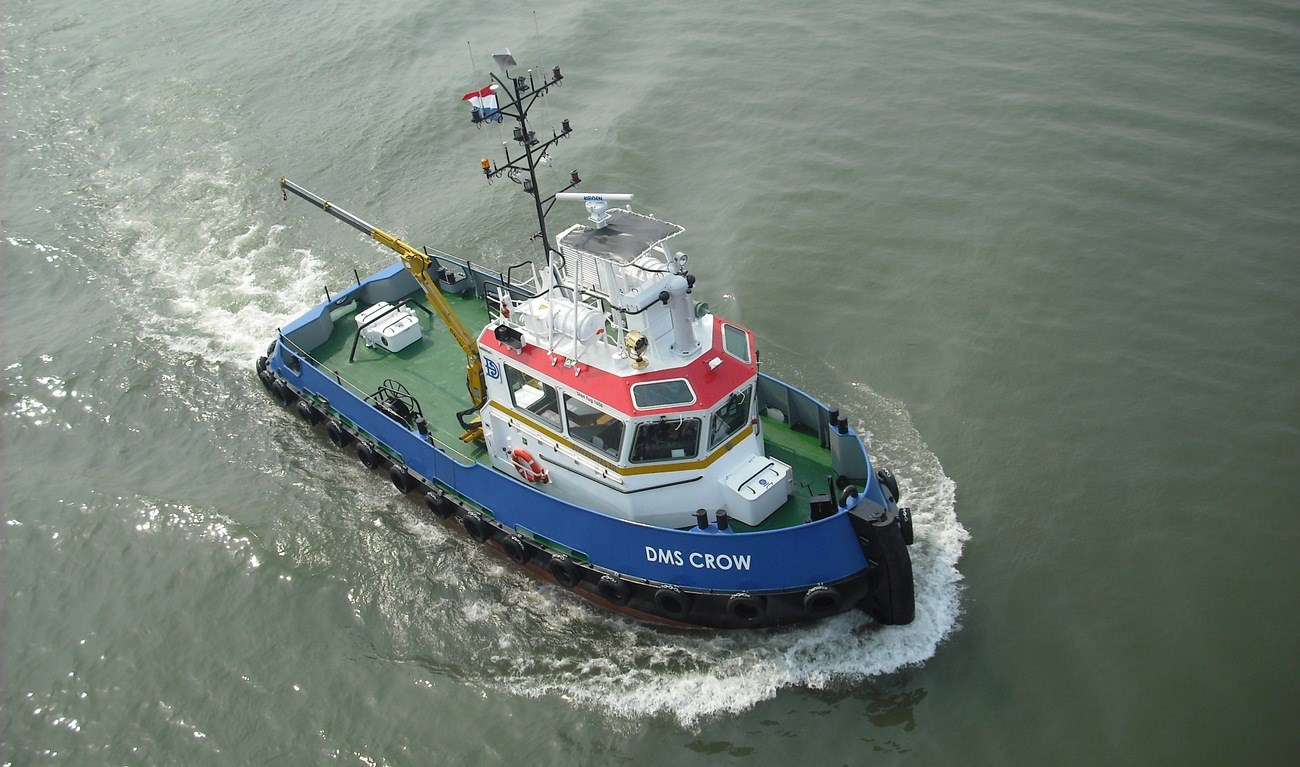 "Stan Tug 1606 ""DMS Crow"" was delivered in December 2009"