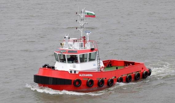 The Stan Tug 1907, named Alexandra has been delivered to the Portfleet 99 in Bulgaria