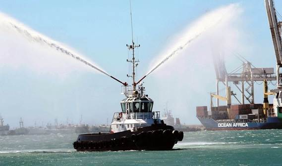 Tanzania Ports Authority took delivery of its new Damen Stan 2208 Tug 'Duma' on June 29, 2010.
