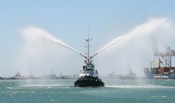 In June 2011 Tanzania Ports Authority took delivery of its new Damen Stan 2208 Tug 'Sato', built at Damen Shipyards Cape Town.