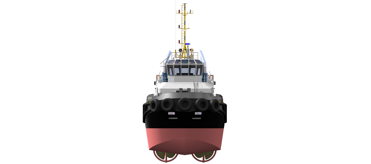 stan tug 3511 front view
