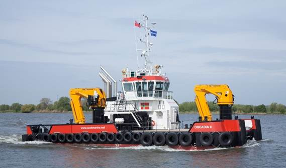 Damen has delivered over the past five years a number of other Multi Cats