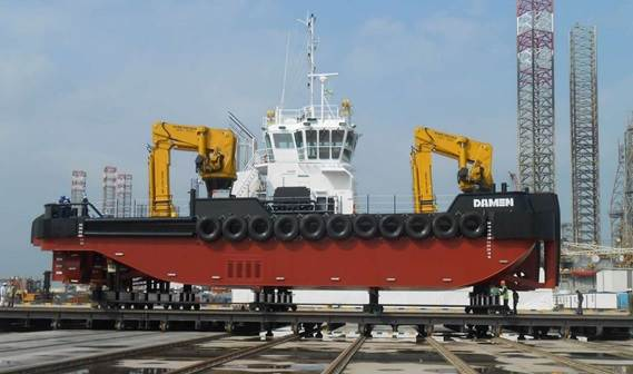 Maritime Craft Services (Clyde) Ltd has taken delivery of its first Damen Multi Cat 3013.