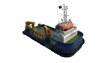 Renewables service, anchor handling, dredger service, supply, towing, hose handling and survey