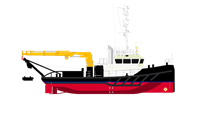 The Damen Shoalbusters are versatile, multi-purpose vessels for harbour, inland and coastal waters.