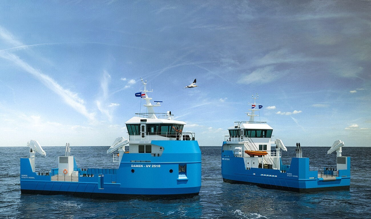 utility vessel 2510 | damen shipyards