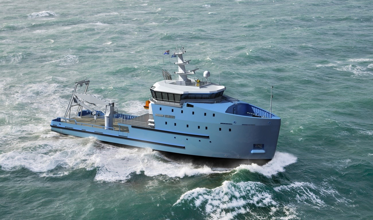 The Utility Vessel Series complements Damen's range of heavy duty workboats and offshore vessels.