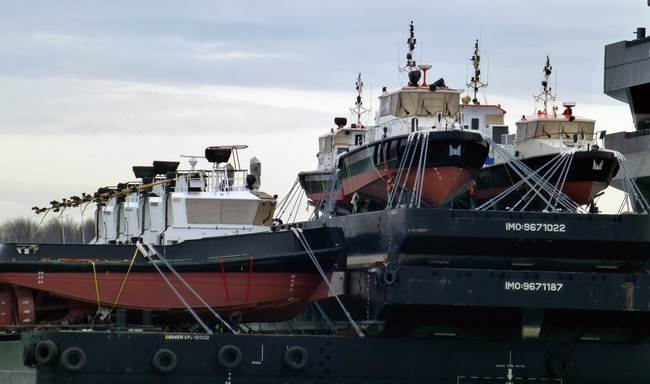 Damen build a wide variety of standard vessels on our own account and keep them in stock.