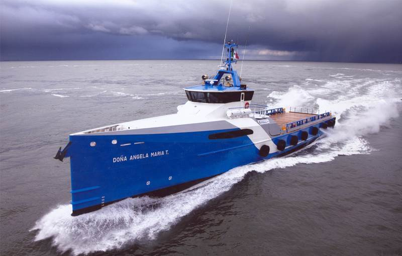 26 m length High Speed Catamaran 2610 for offshore wind ...