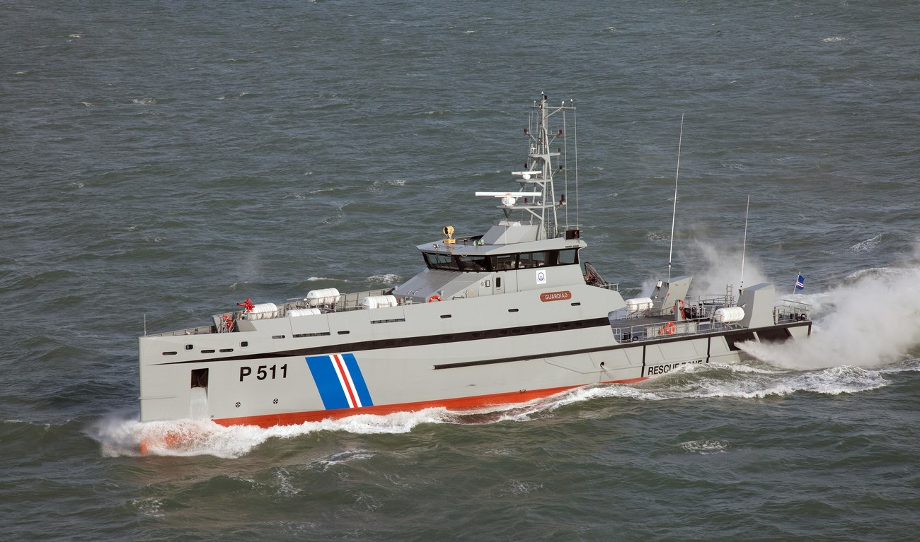 Although these vessels are primarily used for military duties, they are built to commercial specifications and standards